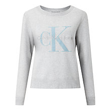 Buy Calvin Klein Hadley Logo Sweatshirt Online at johnlewis.com