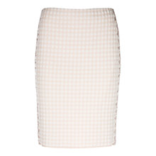 Buy Marc Cain Gingham Pencil Skirt, Shell Online at johnlewis.com