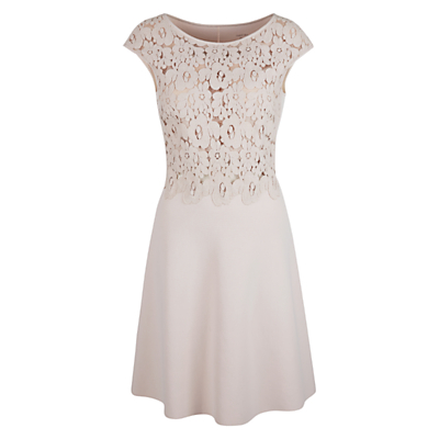 Marc Cain Lace Bodice Dress, Shell