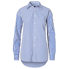 Buy Polo Ralph Lauren Stripe Boyfriend Shirt, Regatta Fun Online at johnlewis.com
