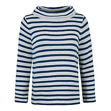 Buy Seasalt Gulf Stripe Jumper, Reef Galley Online at johnlewis.com