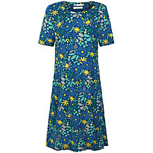 Buy Seasalt Nodding Heads Printed Cord Dress, Blue Online at johnlewis.com