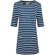 Buy Seasalt Sailor Tunic Dress, Breton Galley Ecru Online at johnlewis.com