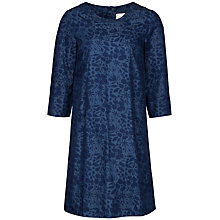Buy Seasalt Vidalias Printed Chambray Dress, Indigo Online at johnlewis.com
