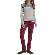 Buy Seasalt Lamledra Cord Trousers, Wine Online at johnlewis.com