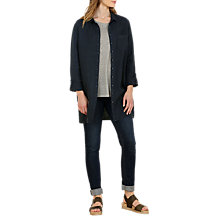 Buy Seasalt Rockcliff Shirt, Dark Night Online at johnlewis.com