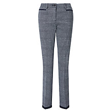 Buy Gardeur Denise Trousers, Navy/White Online at johnlewis.com