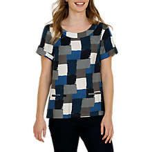 Buy Seasalt Readymoney Patchwork Print Top, Timbered Cobble Online at johnlewis.com