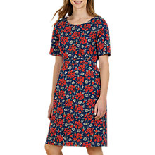 Buy Seasalt Wild Bluebell Dress, Geranium Brick Online at johnlewis.com