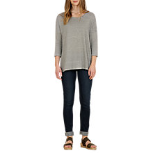Buy Seasalt Burrow Stripe Top, Towers Marine Salt Online at johnlewis.com