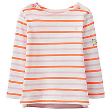 Buy Baby Joule Harbour Luxe Striped Top, Cream/Multi Online at johnlewis.com