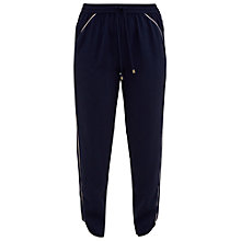 Buy Ted Baker Colour By Numbers Shoula Piped Joggers, Dark Blue Online at johnlewis.com