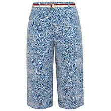 Buy Ted Baker Colour By Numbers Kaanan Fish Print Culottes, Light Blue Online at johnlewis.com