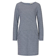 Buy Betty & Co. Long Sleeved Dress, Dark Blue/Light Blue Online at johnlewis.com