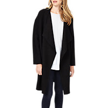 Buy Phase Eight Abelie Cocoon Coat, Black Online at johnlewis.com