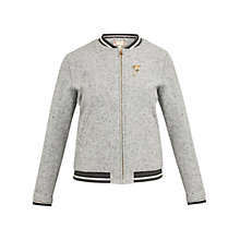 Buy Ted Baker Colour By Numbers Prema Semi Fitted Bomber Jacket Online at johnlewis.com