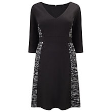 Buy Studio 8 Evita Dress, Black Online at johnlewis.com