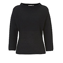 Buy Betty & Co. Textured Jumper, Dark Sapphire Online at johnlewis.com