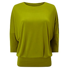 Buy Phase Eight Clara Top, Chartreuse Online at johnlewis.com