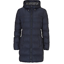 Buy Betty & Co. Padded Hood Coat, Dark Sapphire Online at johnlewis.com