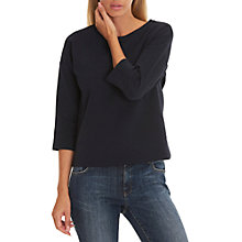 Buy Betty & Co. 3/4 Length Sleeve Sweatshirt, Dark Sapphire Online at johnlewis.com