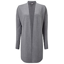 Buy Phase Eight Jovanna Longline Cardigan, Grey Marl Online at johnlewis.com