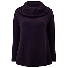 Buy Phase Eight Annalise Swing Jumper, Port Online at johnlewis.com