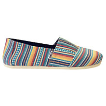 Buy Toms Multi Tree Espadrilles, Multi Online at johnlewis.com