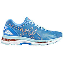 Buy Asics Gel-Nimbus 19 Women's Running Shoes, Blue/Pink Online at johnlewis.com