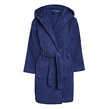 Buy John Lewis Boys' Towelling Robe, Blue Online at johnlewis.com