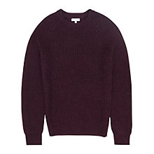 Buy Reiss Jamie Ribbed Crew Neck Jumper Online at johnlewis.com