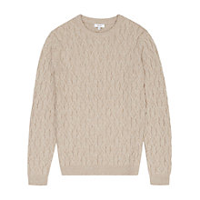 Buy Reiss Panther Cable Knit Jumper Online at johnlewis.com
