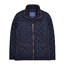 Buy Joules Retreat Jacket Quilted Jacket, Navy Online at johnlewis.com