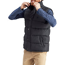 Buy Joules Trail Padded Gilet, Grey Online at johnlewis.com