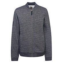 Buy Pretty Green Ranford Zipped Slim Fit Jumper, Black Online at johnlewis.com