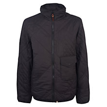 Buy Pretty Green Kirby Quilted Jacket, Black Online at johnlewis.com