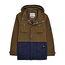 Buy Joules Breakwater Waterproof 4 Pocket Jacket, Dark Pine Online at johnlewis.com