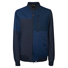 Buy Pretty Green Grainger Jacket, Navy Online at johnlewis.com