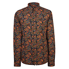 Buy Pretty Green Gretton Paisley Shirt, Multi Online at johnlewis.com