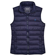 Buy Joules Go To Padded Gilet, Navy Online at johnlewis.com