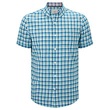 Buy John Lewis Lincot Gingham Short Sleeve Shirt Online at johnlewis.com