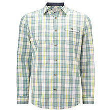 Buy John Lewis Lincot Check Shirt, Green Online at johnlewis.com