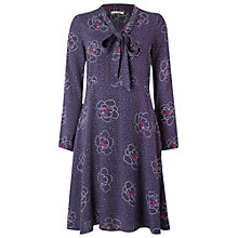 Buy White Stuff Aria Dress, Eccentric Blue Online at johnlewis.com