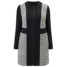 Buy Studio 8 Gwen Panel Coat, Black/Multi Online at johnlewis.com