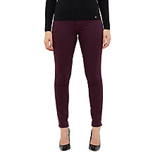 Buy Ted Baker Lamira Embellished Detail Skinny Jeans, Mid Purple Online at johnlewis.com