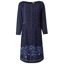 Buy White Stuff Iris Twinkle Dress, Eccentric Blue Online at johnlewis.com