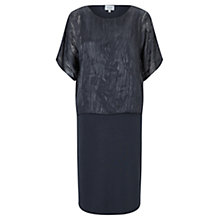 Buy Jigsaw Velvet Devore Overlay Dress Online at johnlewis.com