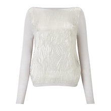 Buy Jigsaw Devore Front Jumper Online at johnlewis.com