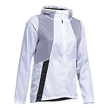 Buy Under Armour Run True Running Jacket, White Online at johnlewis.com