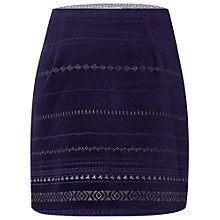Buy White Stuff North To South Sparkle Skirt, Japanese Blue Online at johnlewis.com